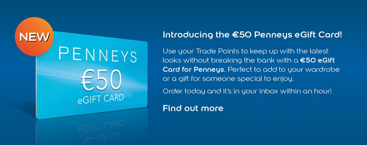 €50 Pennys Gift Card