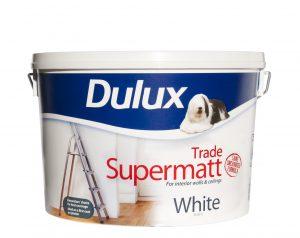 Dulux Trade SuperMatt White 10L