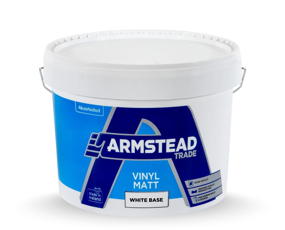 Armstead-Vinyl-Matt-White Base 10L